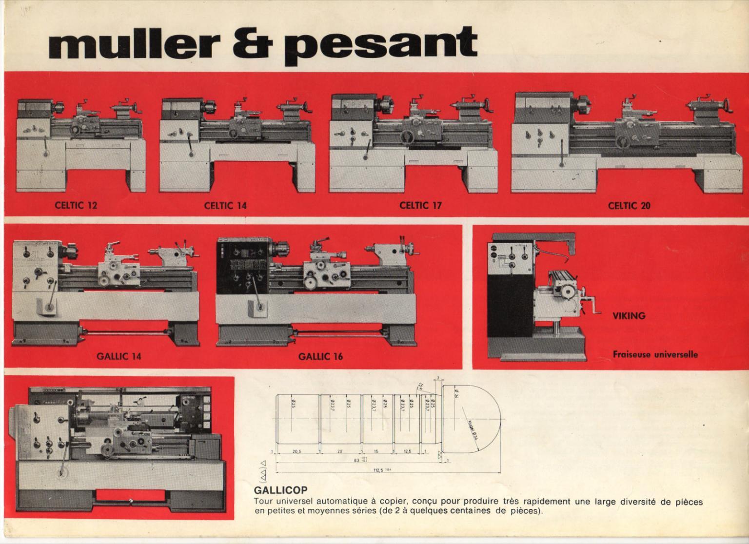 Muller & Pesant / Mondiale Celtic 17, 20 Uw1811
