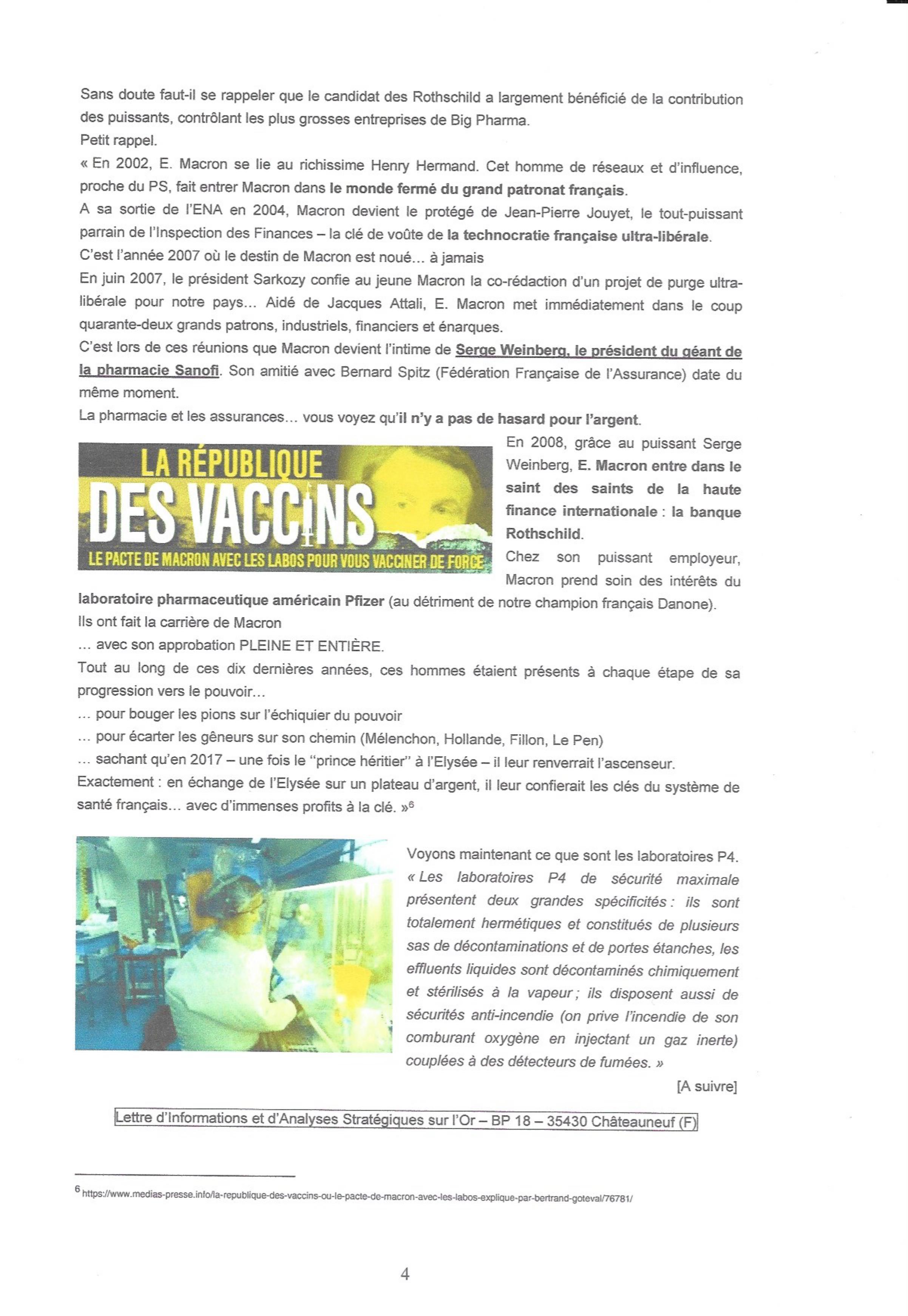 """Les étranges """"coïncidences"""" du Coronavirus : une arme qui tombe à pic dans l'agenda mondialiste... hasard ou calendrier occulte ? 000413"""