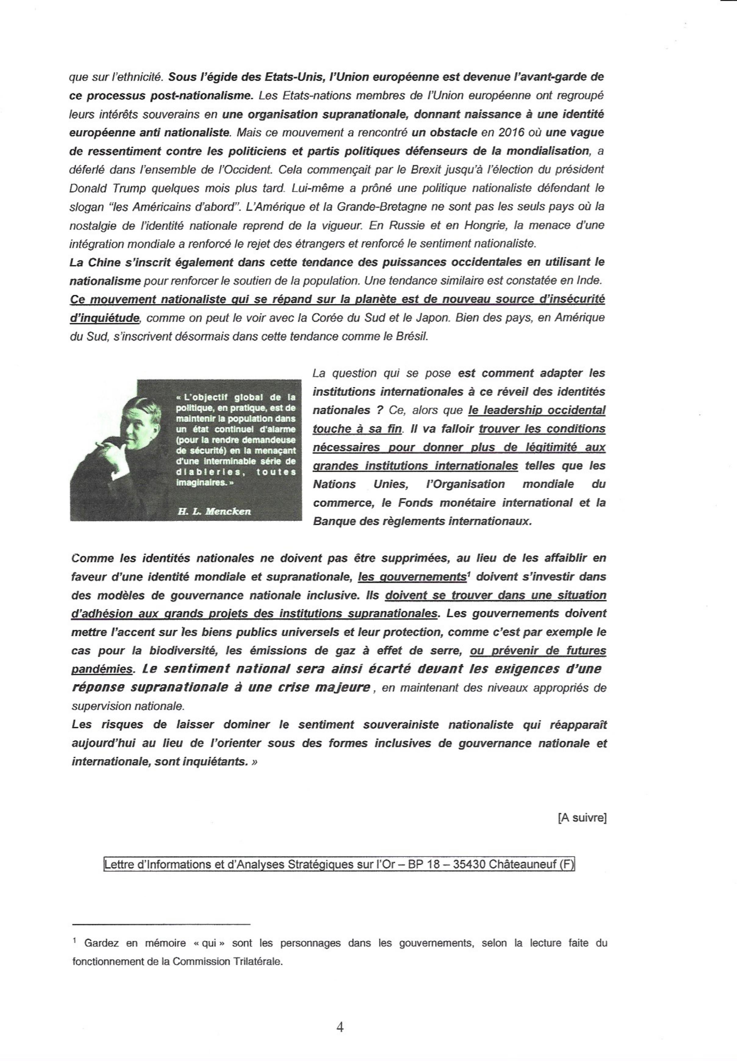 """Les étranges """"coïncidences"""" du Coronavirus : une arme qui tombe à pic dans l'agenda mondialiste... hasard ou calendrier occulte ? 000417"""