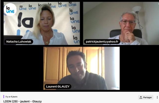 """La """"Une TV"""" de Richard Boutry (alias Ricardo)  - Présentation et live de lancement Le_dzo12"""