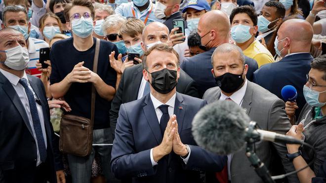 """Les étranges """"coïncidences"""" du Coronavirus : une arme qui tombe à pic dans l'agenda mondialiste... hasard ou calendrier occulte ? - Page 6 Macron22"""