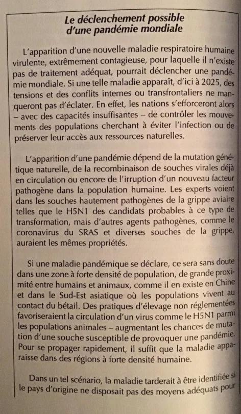 """Les étranges """"coïncidences"""" du Coronavirus : une arme qui tombe à pic dans l'agenda mondialiste... hasard ou calendrier occulte ? Rappor10"""