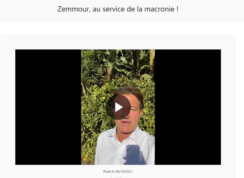 """La """"Une TV"""" de Richard Boutry (alias Ricardo)  - Présentation et live de lancement Zemmou10"""