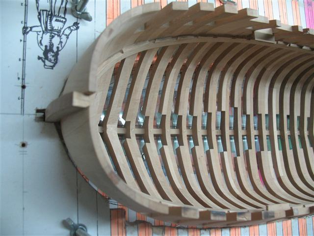 La Belle 1684 scala 1/24  piani ANCRE cantiere di grisuzone  Img_7515