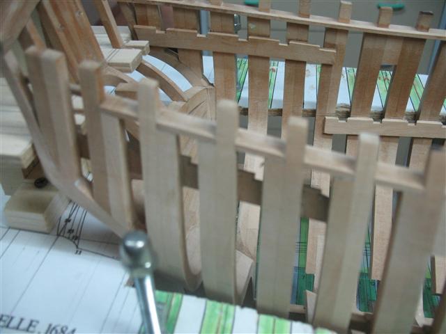 La Belle 1684 scala 1/24  piani ANCRE cantiere di grisuzone  Img_7517