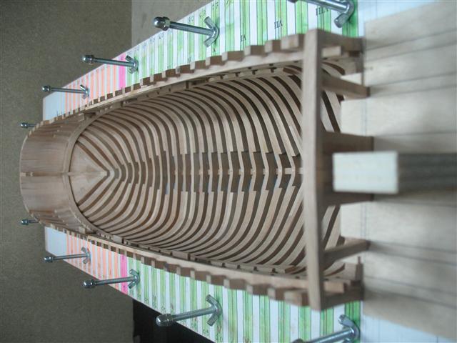 La Belle 1684 scala 1/24  piani ANCRE cantiere di grisuzone  Img_7519