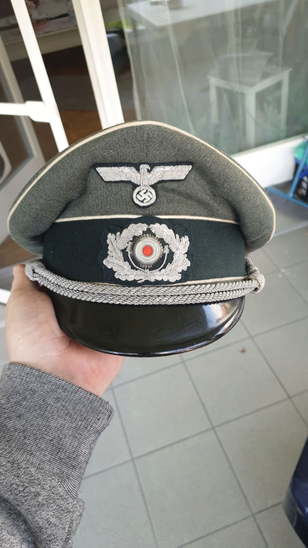 casquette infanterie heer 52149d10