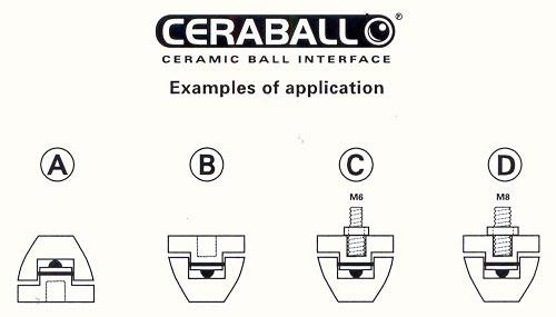 Finite Hi Fi Ceraball Universal Isolation System SOLD 13030610