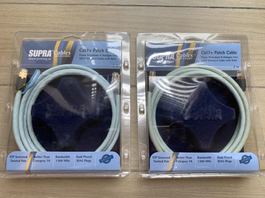 Supra Cat7+ Flame Retardant Ethernet Cable(2 Meter) Price Reduced Img_3710