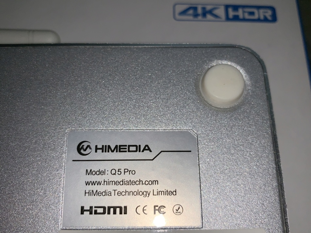 Himedia Q5Pro 4K HDR Android Media Player Img_3715