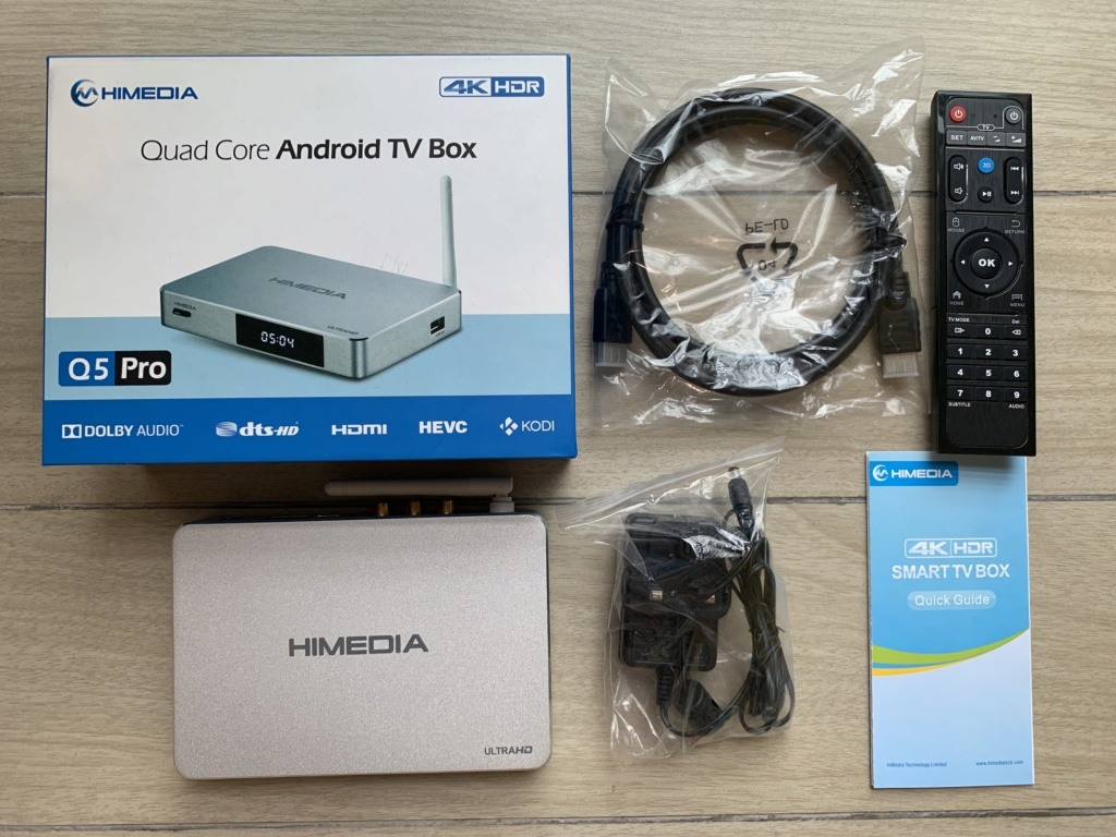 Himedia Q5Pro 4K HDR Android Media Player Img_3716