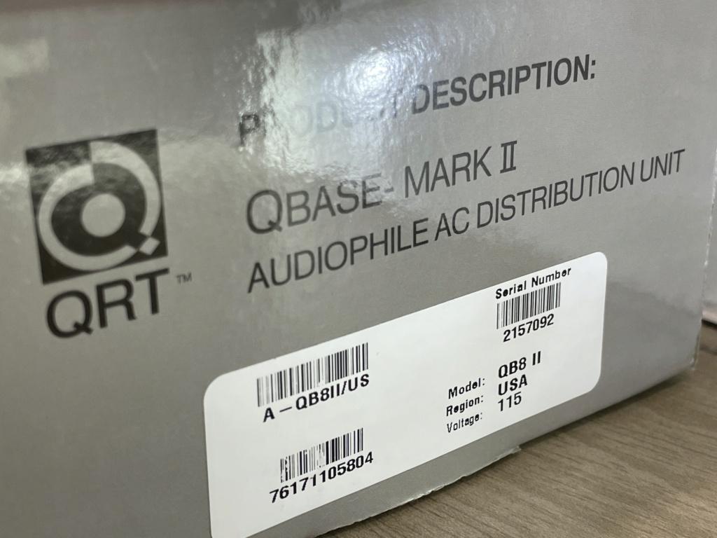 Nordost Qbase QB8 MkII AC Distribution US Plug with SR main fuse Img_6930