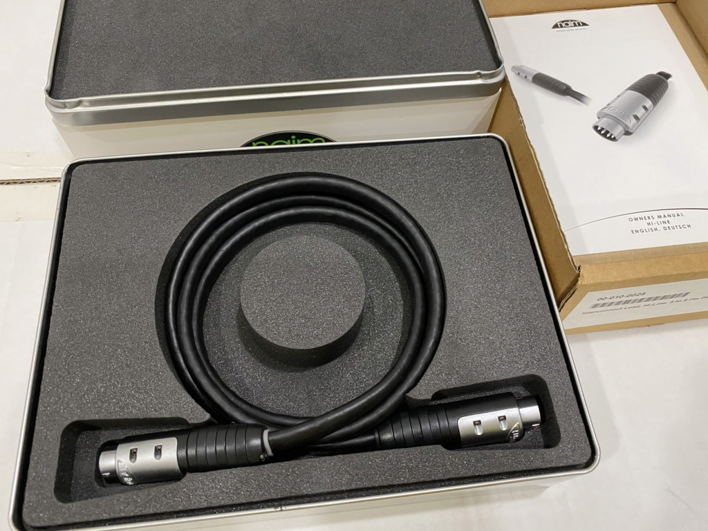Naim Hi-Line 5 Pin to 5 Pin Interconnect Cable (RM1650) Img_8814