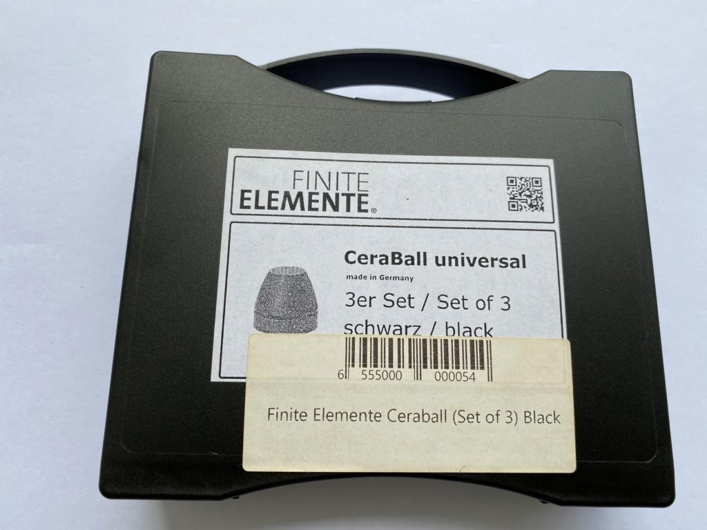 Finite Hi Fi Ceraball Universal Isolation System SOLD Img_8824