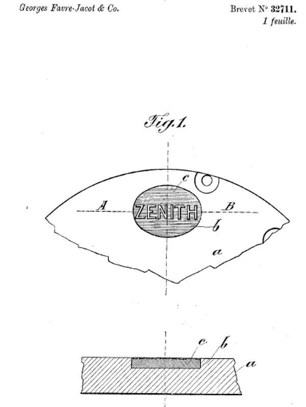 Les brevets déposés par G.Favre-Jacot Image210