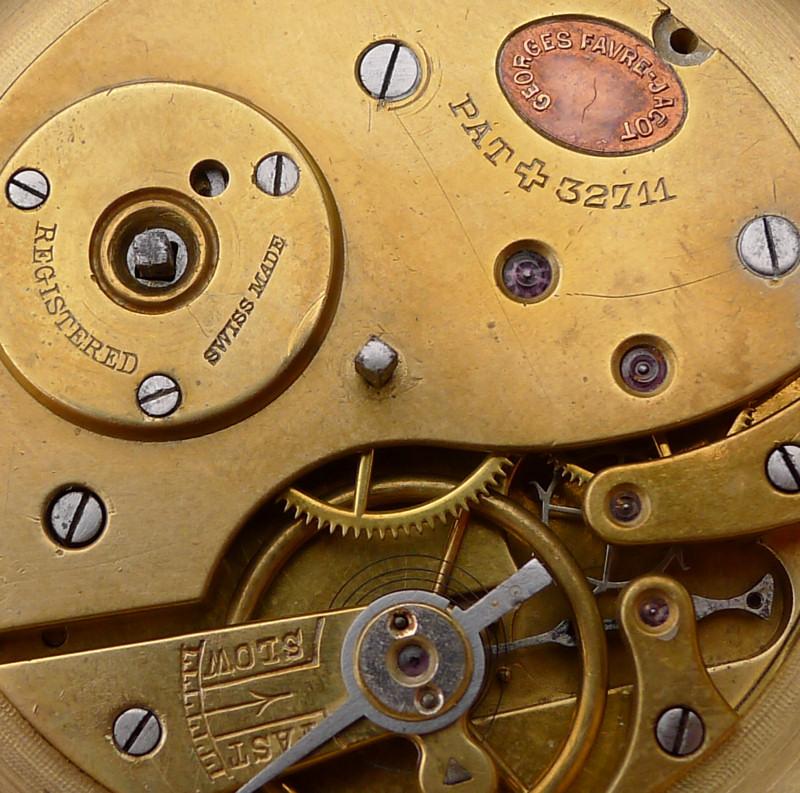 Les brevets déposés par G.Favre-Jacot L1010518