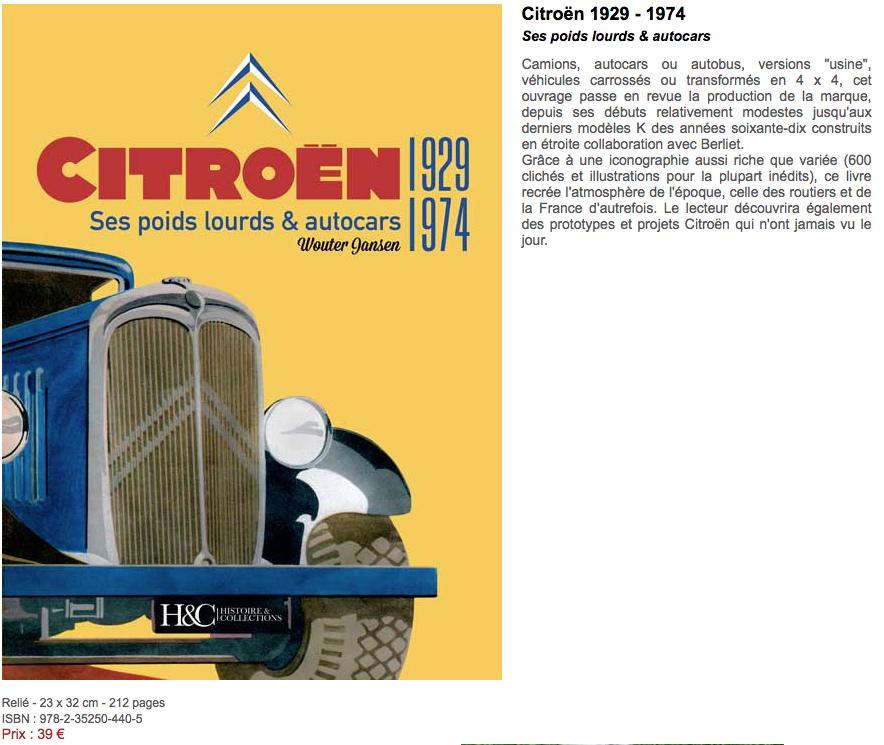 Citroën - ses poids lourds et autocars 1929-1974 0210