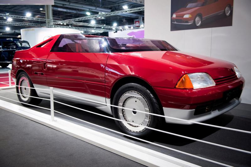 1986 - Citroën Xanthia, concept car petit roadster dérivé de l'AX 10591011