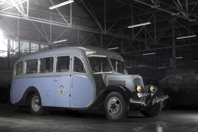 Citroën et le sauvetage du car 23 RU corse 13509010