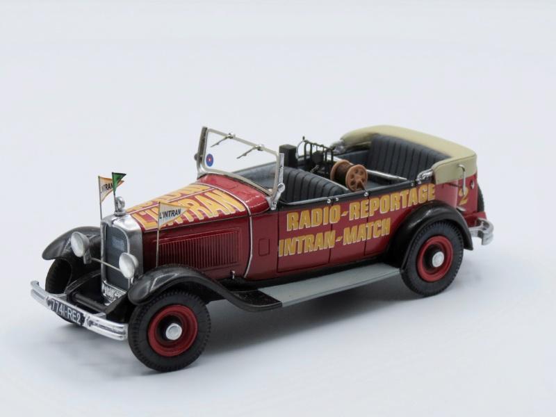 """Citroën miniatures > """"Véhicules de la presse, de la radio, de la télévision et du cinéma""""  1932_c12"""