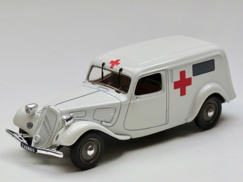 """Citroën miniatures > """"Ambulances, transports de blessés et assistance d'urgence aux victimes"""" 1937_110"""