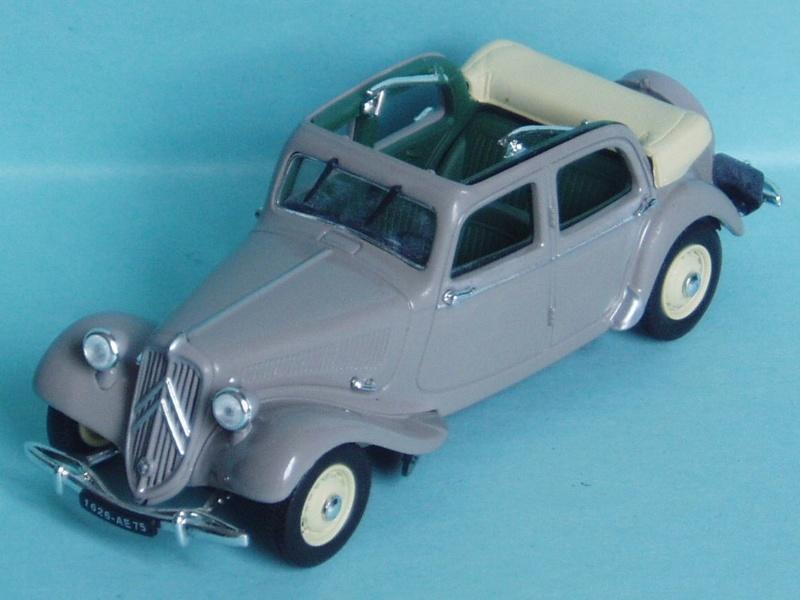 Citroën : les Traction Avant Citroën découvrables A.E.A.T. 1950_110