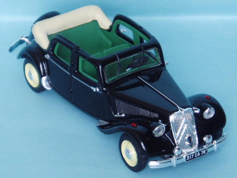 Citroën : les Traction Avant Citroën découvrables A.E.A.T. 1950_111