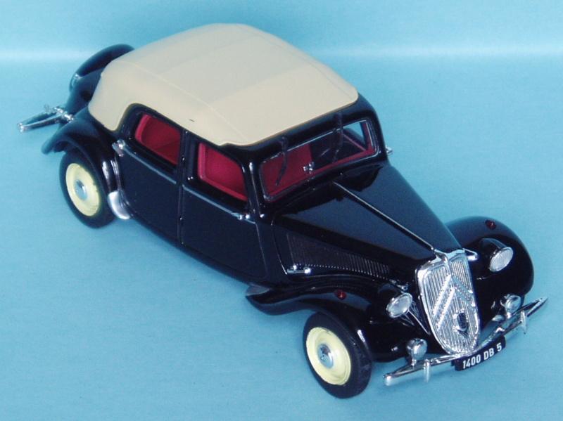 Citroën : les Traction Avant Citroën découvrables A.E.A.T. 1950_112