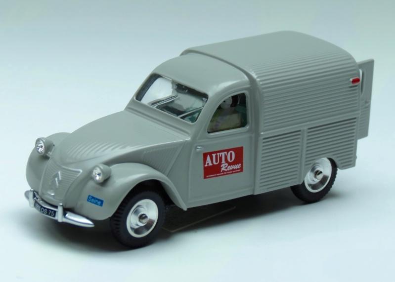 """Citroën miniatures > """"Véhicules de la presse, de la radio, de la télévision et du cinéma""""  1955_214"""