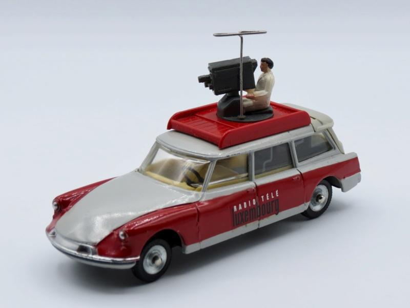 """Citroën miniatures > """"Véhicules de la presse, de la radio, de la télévision et du cinéma""""  1962_i10"""