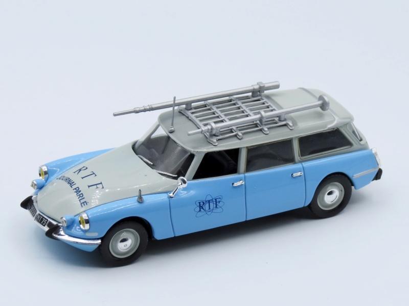 """Citroën miniatures > """"Véhicules de la presse, de la radio, de la télévision et du cinéma""""  1963_i13"""