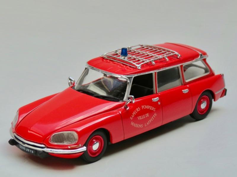 """Citroën miniatures > """"Ambulances, transports de blessés et assistance d'urgence aux victimes"""" 1972_i10"""