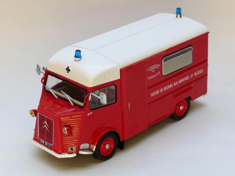 """Citroën miniatures > """"Ambulances, transports de blessés et assistance d'urgence aux victimes"""" 1972_v10"""