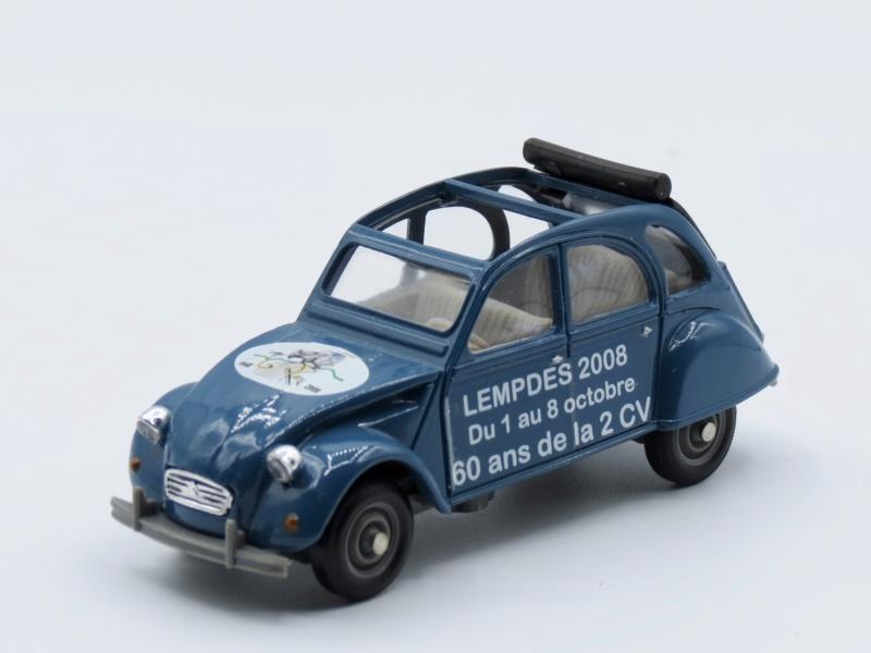 Citroën miniatures, on a fêté la 2CV 1974_211