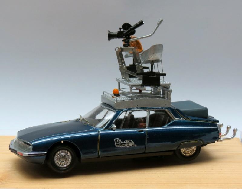 """Citroën miniatures > """"Véhicules de la presse, de la radio, de la télévision et du cinéma""""  1978_s10"""