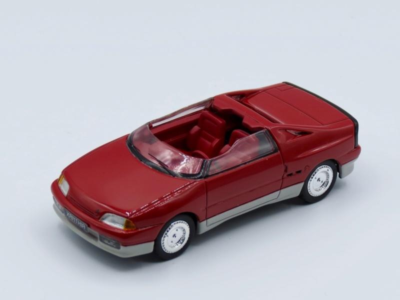 1986 - Citroën Xanthia, concept car petit roadster dérivé de l'AX 1985_c10