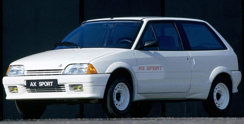 L'AX GTi, la plus performante des AX 1986_c11