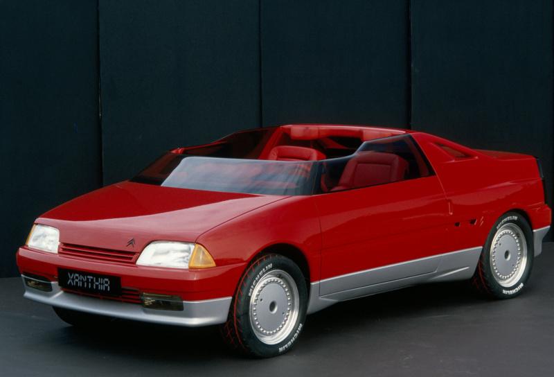 1986 - Citroën Xanthia, concept car petit roadster dérivé de l'AX 1986_c13