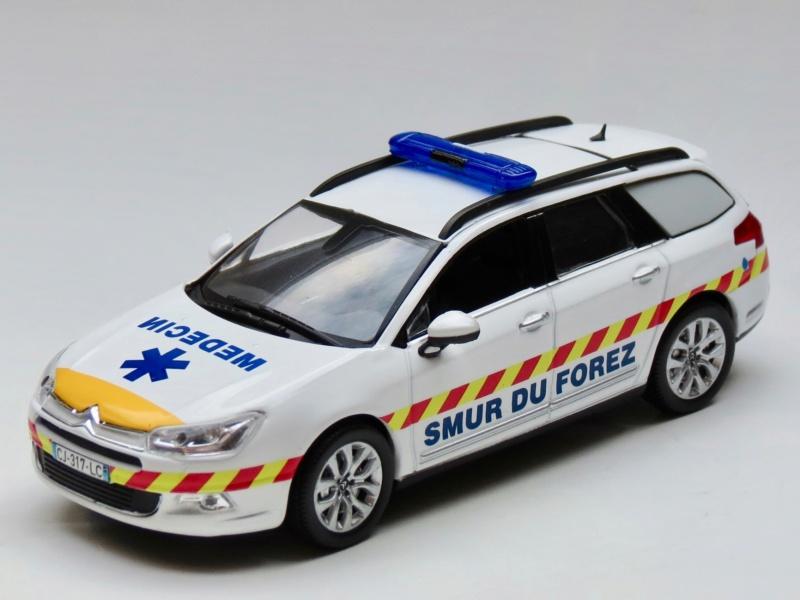 """Citroën miniatures > """"Ambulances, transports de blessés et assistance d'urgence aux victimes"""" 2011_c10"""