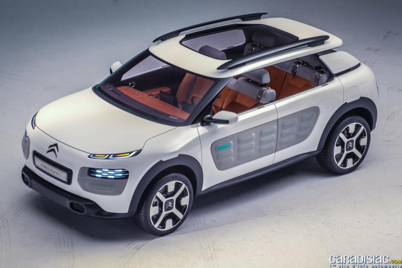 """""""Les Citroën C4 Cactus ne naissent pas dans les choux ni dans les roses.""""  25-cit10"""