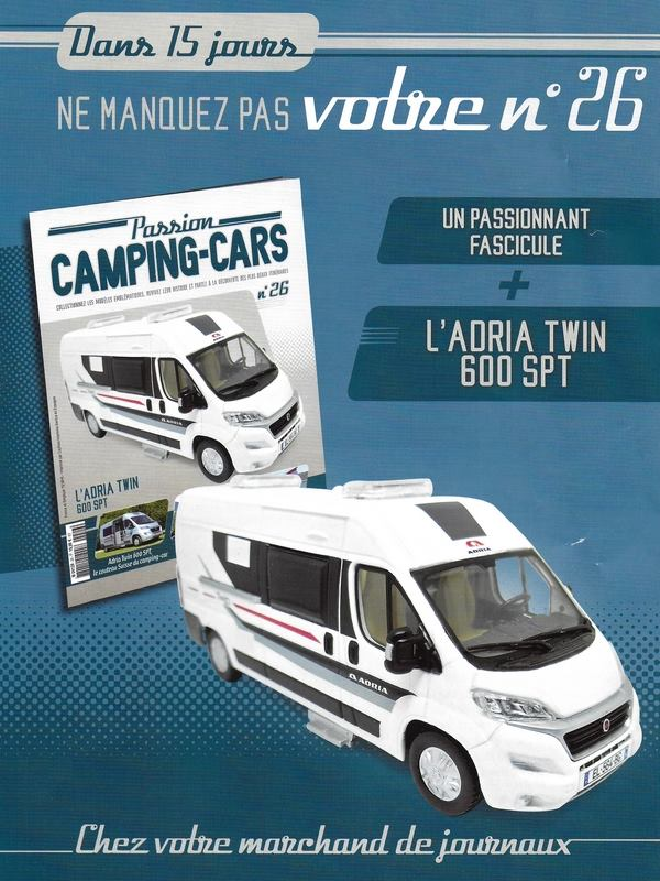 """2017 - Hachette Collections > """"Passion CAMPING-CARS"""" 29389410"""