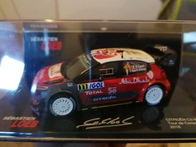 """2018 NOUVEAU > ALTAYA > """"Collection Sébastien Loeb"""" au 1/43  47106510"""