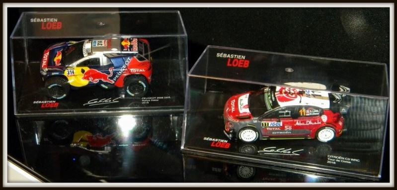 """2018 NOUVEAU > ALTAYA > """"Collection Sébastien Loeb"""" au 1/43  47115010"""