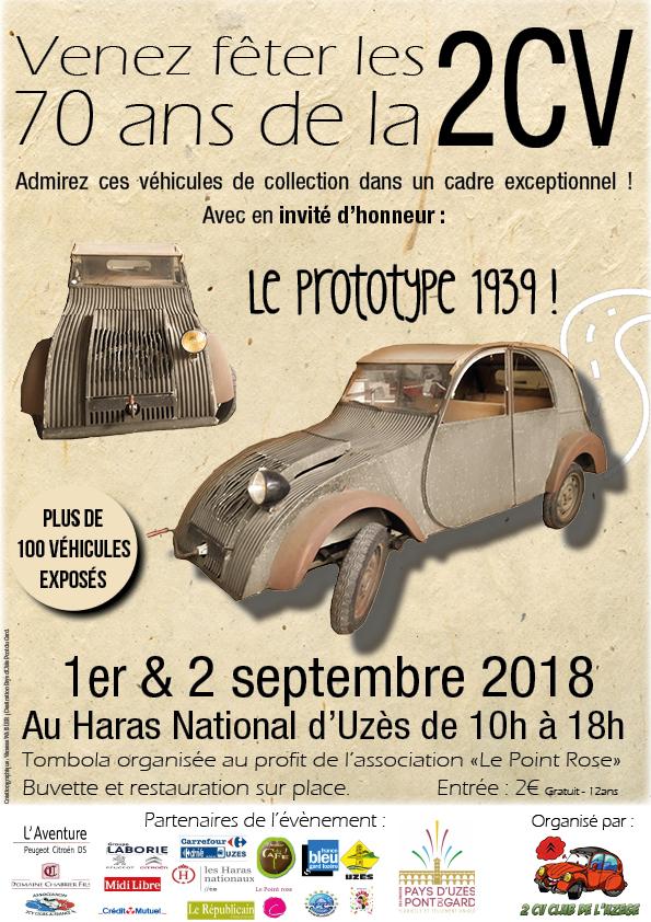 Les 70 ans de la 2CV au Haras National d'Uzès 70ans_10