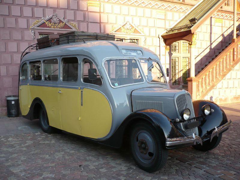 Citroën et le sauvetage du car 23 RU corse 71179510