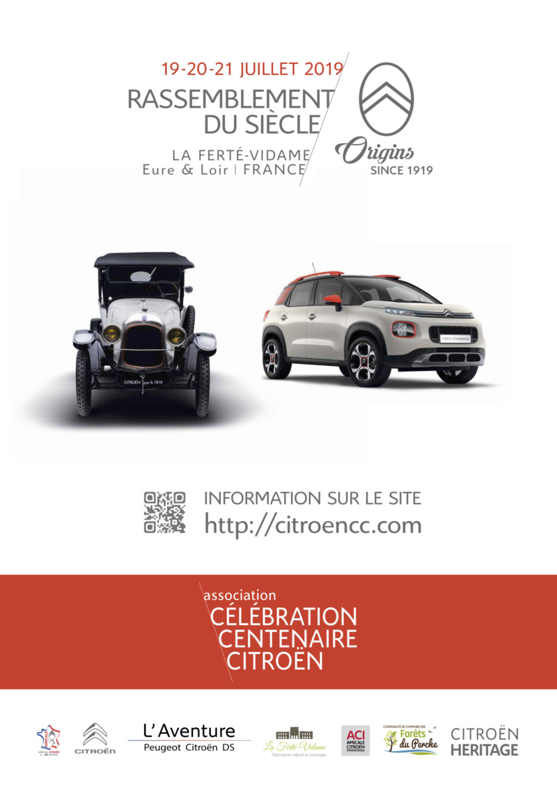 2019 > Célébration du Centenaire de CITROËN par l'association A4_fly11
