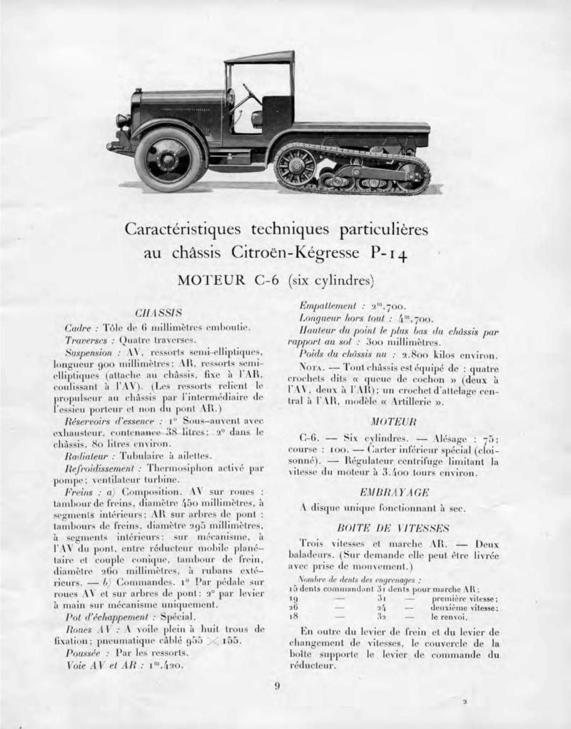 Les tracteurs Citroën à propulseurs Kègresse Ac156811