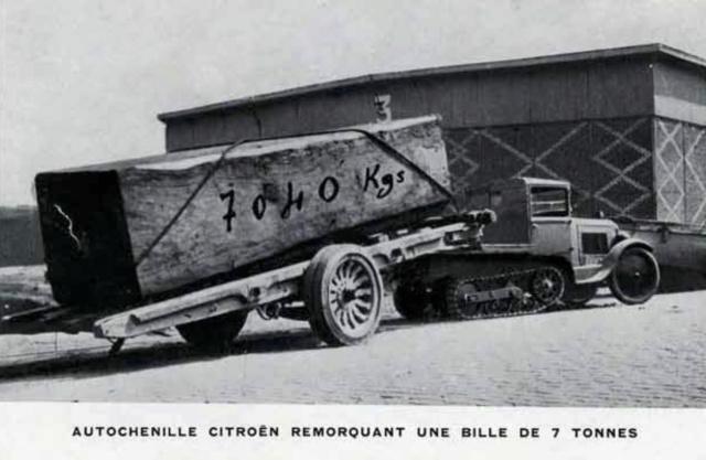 Les tracteurs Citroën à propulseurs Kègresse Ac194614