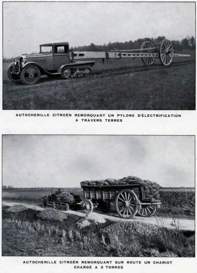 Les tracteurs Citroën à propulseurs Kègresse Ac194615