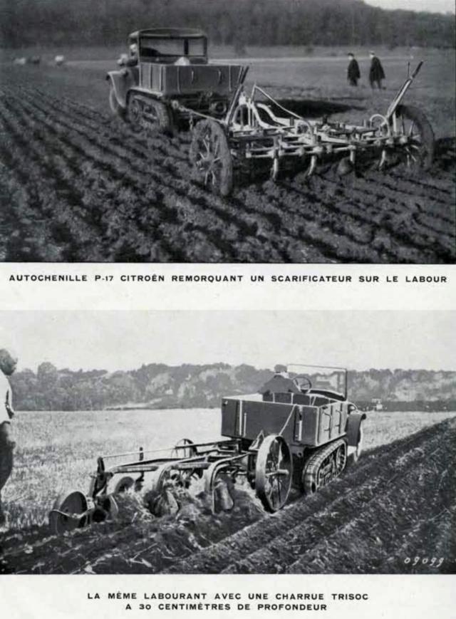 Les tracteurs Citroën à propulseurs Kègresse Ac194616